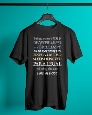Paralegals Like a Boss Classic T-Shirt lifestyle-mens-crewneck-front-3