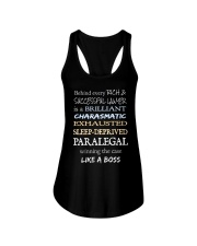 Paralegals Like a Boss Ladies Flowy Tank thumbnail