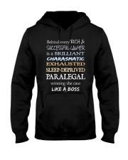 Paralegals Like a Boss Hooded Sweatshirt thumbnail