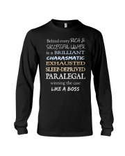 Paralegals Like a Boss Long Sleeve Tee tile