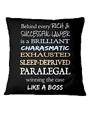 Paralegals Like a Boss Square Pillowcase tile