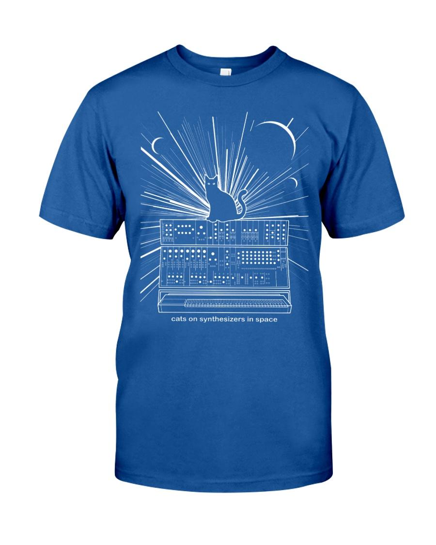 Cat Synthetizer Shirt  Classic T-Shirt
