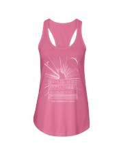 Cat Synthetizer Shirt  Ladies Flowy Tank front