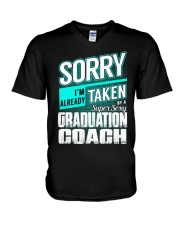 Graduation Coach - Super Sexy V-Neck T-Shirt thumbnail