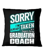 Graduation Coach - Super Sexy Square Pillowcase thumbnail