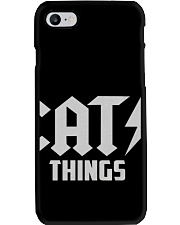 MOTHER DAY CATS THINGS CAT MOM TANK Phone Case thumbnail