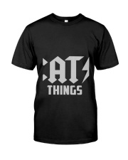 MOTHER DAY CATS THINGS CAT MOM TANK Classic T-Shirt thumbnail