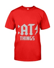 MOTHER DAY CATS THINGS CAT MOM TANK Classic T-Shirt front