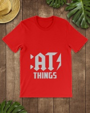 MOTHER DAY CATS THINGS CAT MOM TANK Classic T-Shirt lifestyle-mens-crewneck-front-18