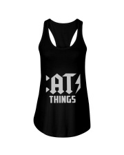 MOTHER DAY CATS THINGS CAT MOM TANK Ladies Flowy Tank thumbnail