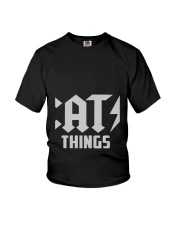 MOTHER DAY CATS THINGS CAT MOM TANK Youth T-Shirt thumbnail