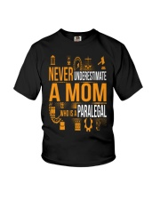 Underestimate A Mom - Paralegal Youth T-Shirt thumbnail