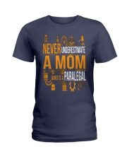 Underestimate A Mom - Paralegal Ladies T-Shirt thumbnail