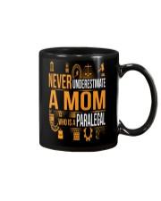 Underestimate A Mom - Paralegal Mug thumbnail