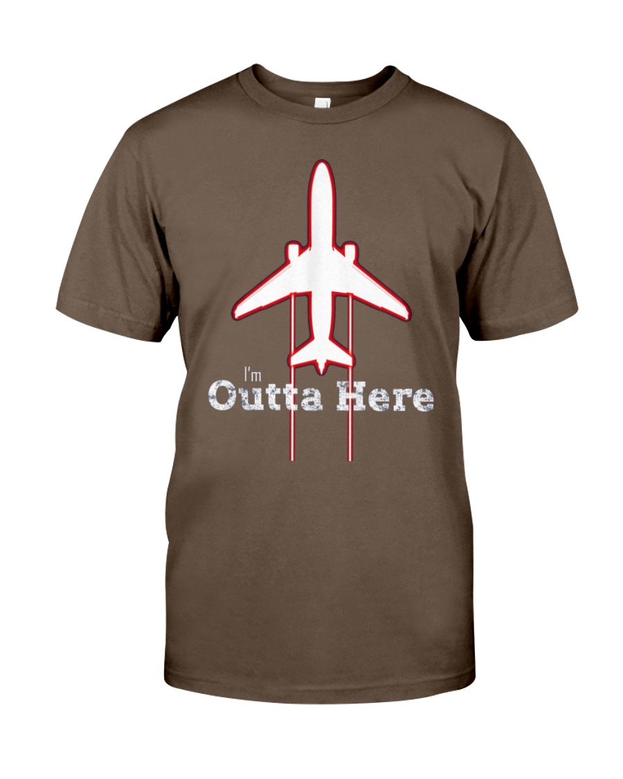 Im Outta Here Great Graduation Shirt Classic T-Shirt