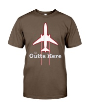 Im Outta Here Great Graduation Shirt Classic T-Shirt front