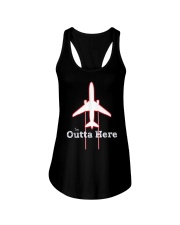 Im Outta Here Great Graduation Shirt Ladies Flowy Tank thumbnail