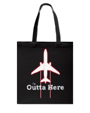 Im Outta Here Great Graduation Shirt Tote Bag thumbnail