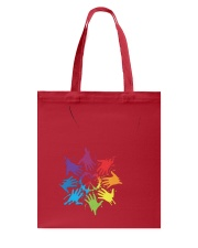 Peace for LGBT Pride Month Tote Bag front