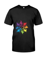 Peace for LGBT Pride Month Classic T-Shirt thumbnail