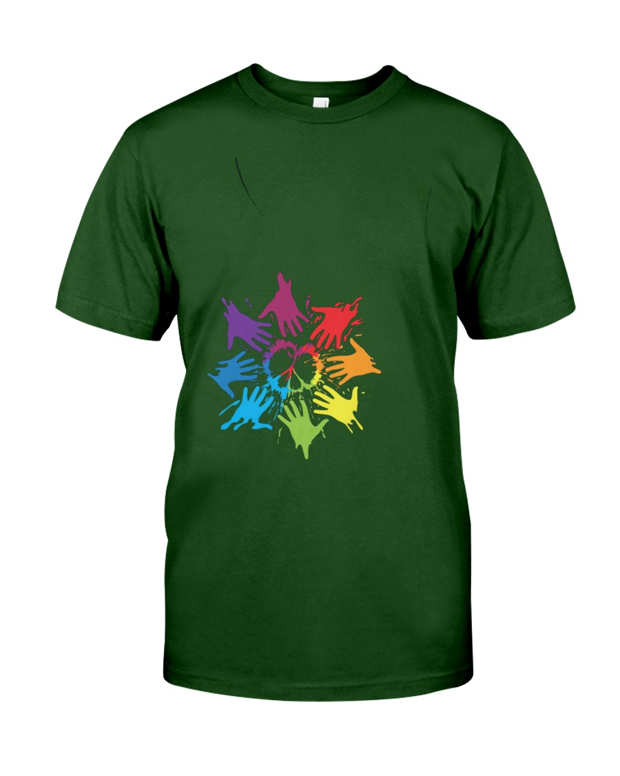 Peace for LGBT Pride Month Classic T-Shirt