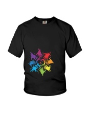 Peace for LGBT Pride Month Youth T-Shirt thumbnail