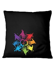 Peace for LGBT Pride Month Square Pillowcase thumbnail
