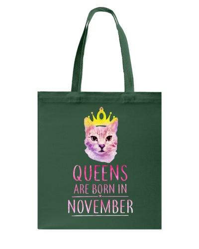 November Queens Cat Are Born In T Shirt Hoodie