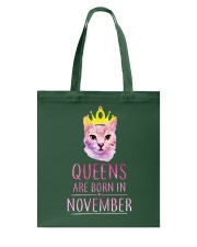 November Queens Cat Are Born In T Shirt Hoodie Tote Bag thumbnail