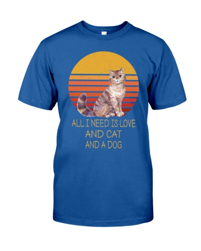 All I Need Is Love And Cat And A Dog Vintage