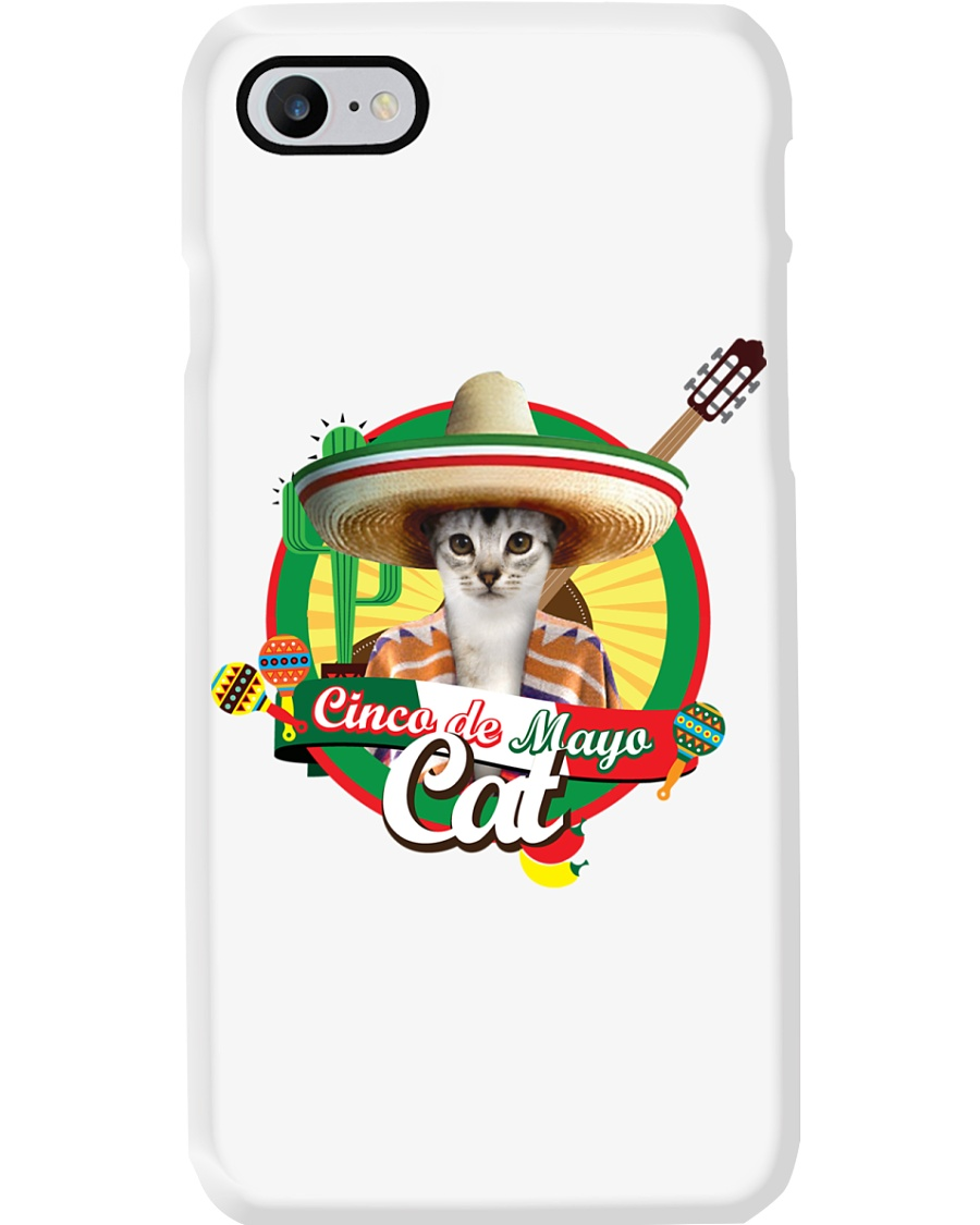 Cats - Cinco De Mayo Phone Case
