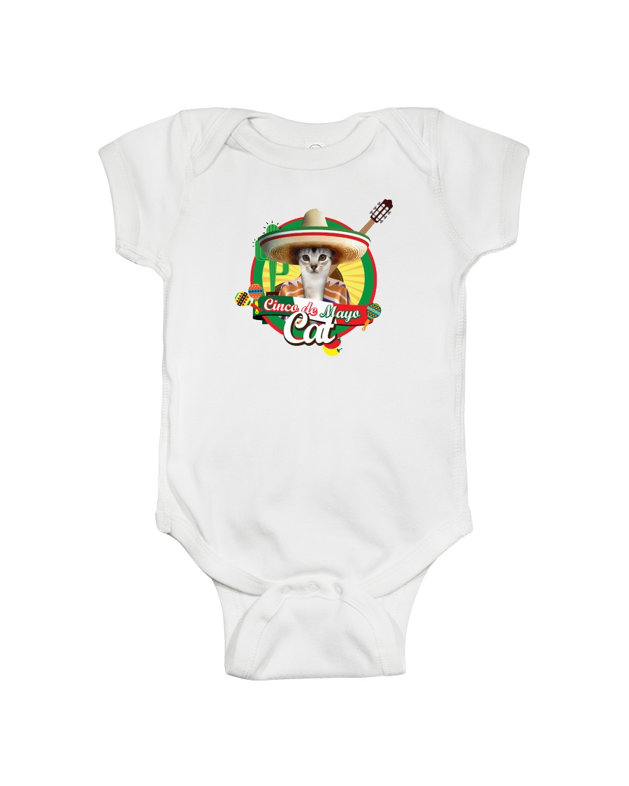 Cats - Cinco De Mayo Onesie