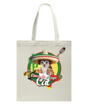 Cats - Cinco De Mayo Tote Bag thumbnail