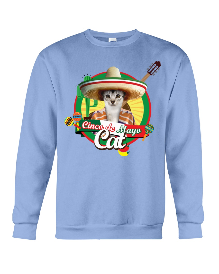 Cats - Cinco De Mayo Crewneck Sweatshirt