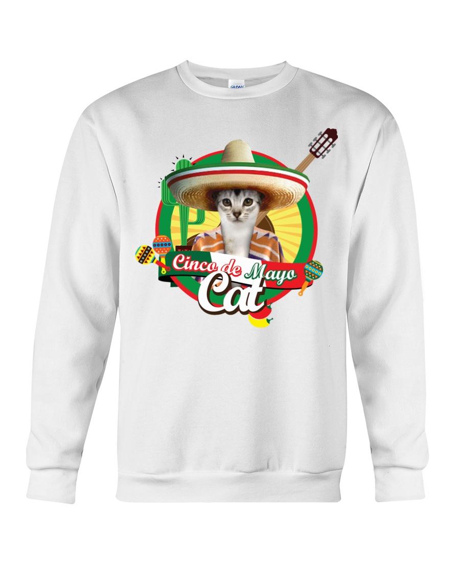 Cats - Cinco De Mayo Crewneck Sweatshirt