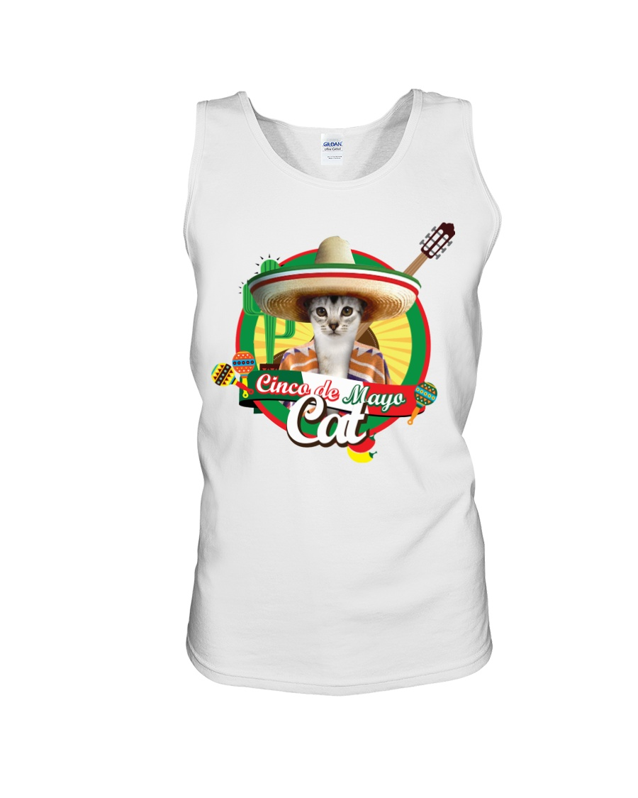 Cats - Cinco De Mayo Unisex Tank