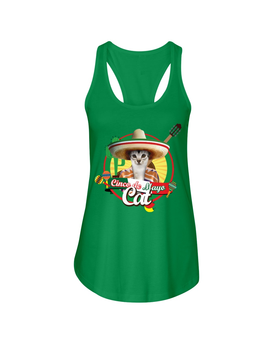 Cats - Cinco De Mayo Ladies Flowy Tank