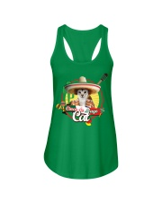 Cats - Cinco De Mayo Ladies Flowy Tank front