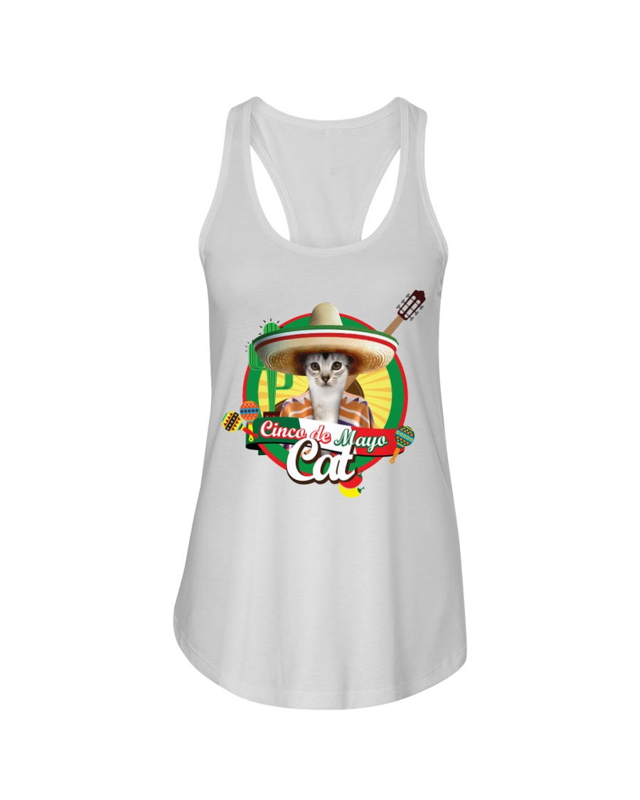 Cats - Cinco De Mayo Ladies Flowy Tank