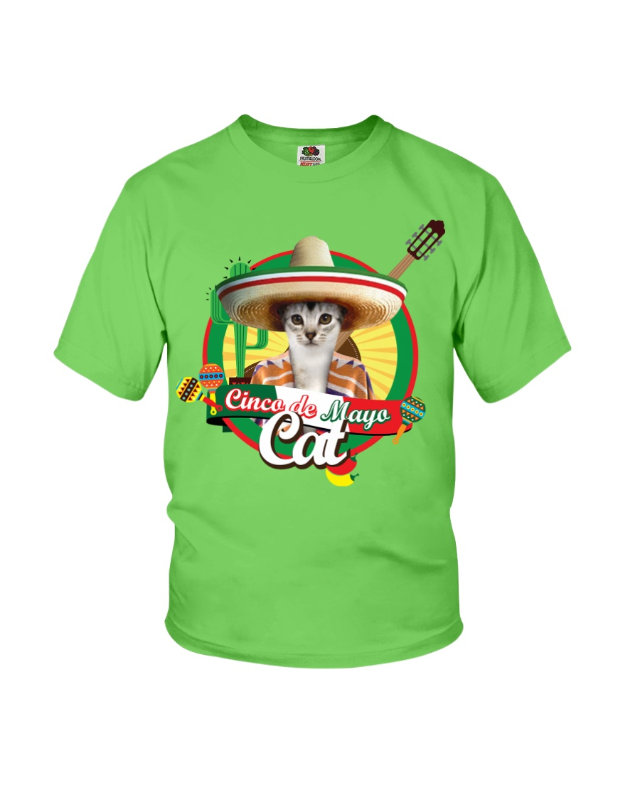Cats - Cinco De Mayo Youth T-Shirt