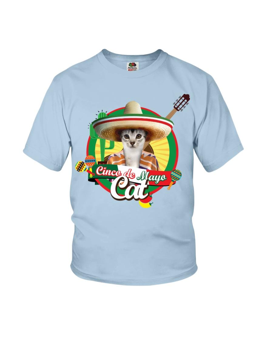 Cats - Cinco De Mayo Youth T-Shirt