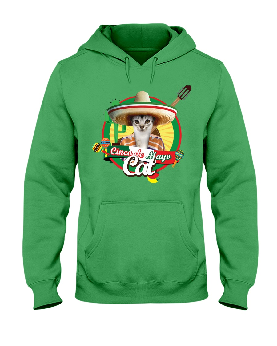 Cats - Cinco De Mayo Hooded Sweatshirt
