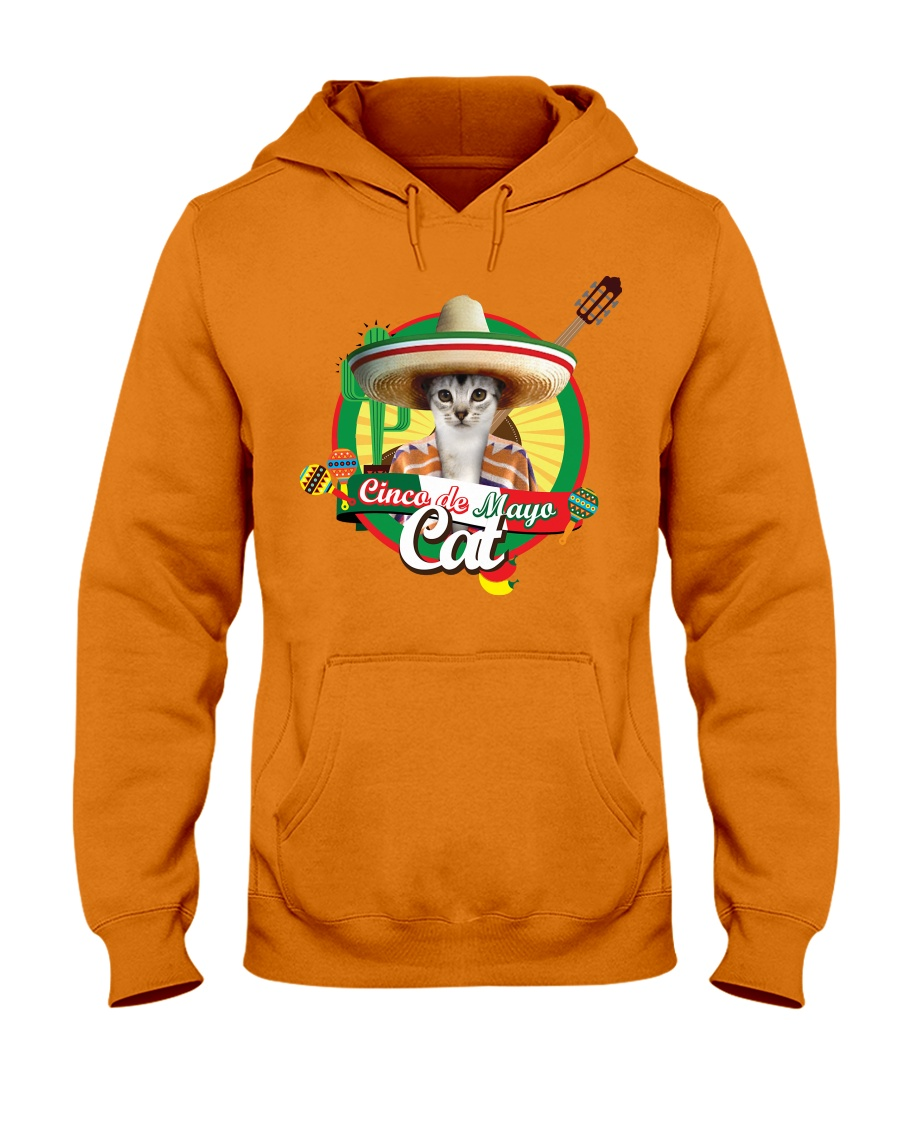Cats - Cinco De Mayo Hooded Sweatshirt
