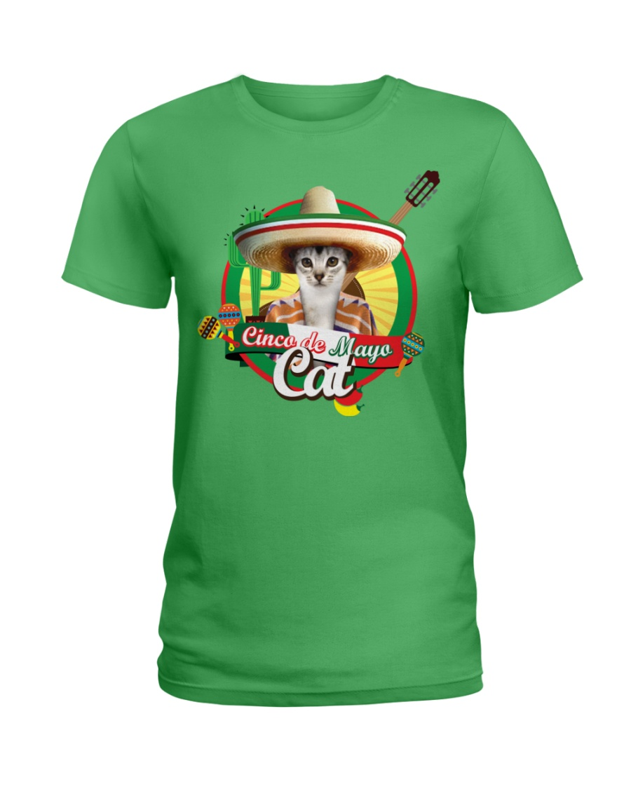 Cats - Cinco De Mayo Ladies T-Shirt