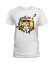 Cats - Cinco De Mayo Ladies T-Shirt thumbnail