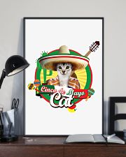Cats - Cinco De Mayo 11x17 Poster lifestyle-poster-2