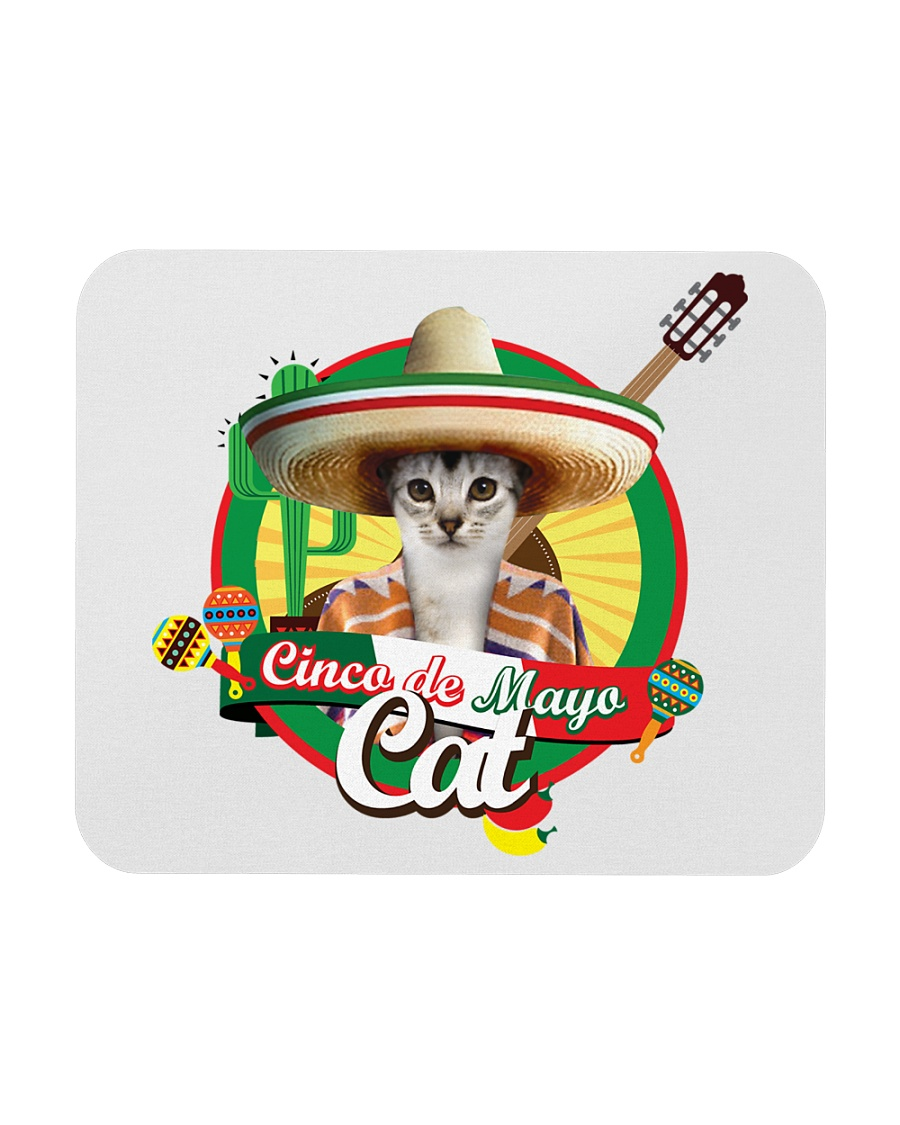 Cats - Cinco De Mayo Mousepad