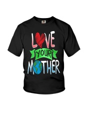 Earth Day t shirt Love Your Mother Earth Cute Tee Youth T-Shirt thumbnail