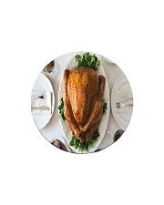 Turkey Dinner Circle Magnet thumbnail