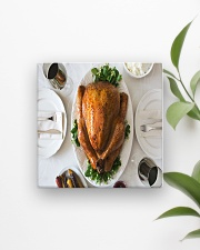 Turkey Dinner Square Magnet aos-magnets-square-front-lifestyle-4